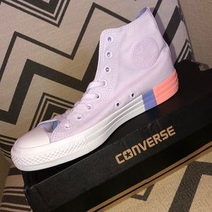 Converse Shoes | Converse Hi Barely Grape Twilight Pulse | Poshmark